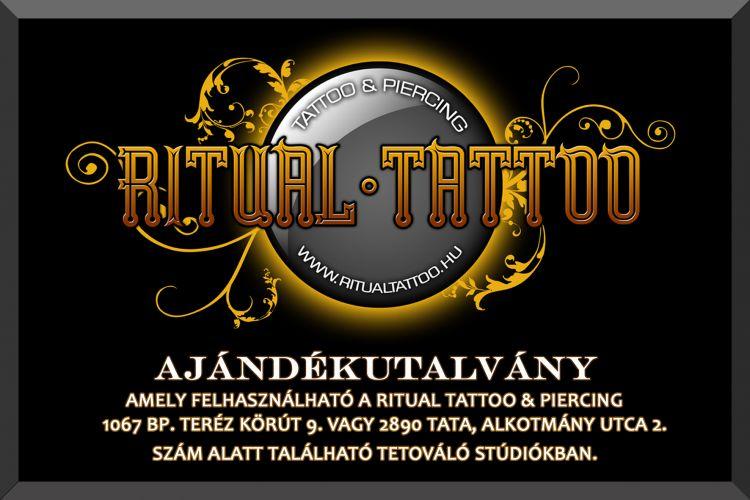 Ritual Tattoo & Piercing, Ajándékutalvány