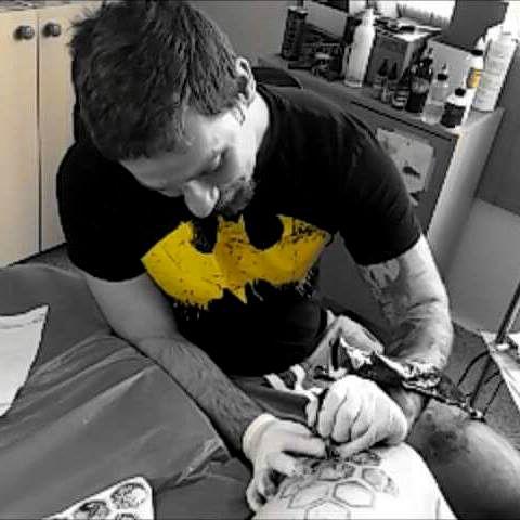 Makkos Tibor  /         Guest Tattoo Artist - Tata - Tetoválás
