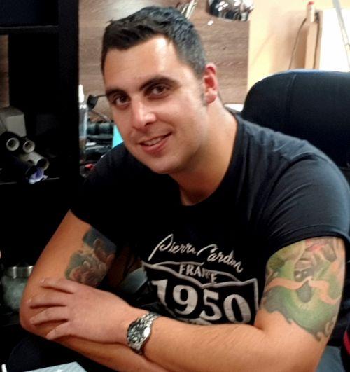 Végh Richárd - Tetoválás